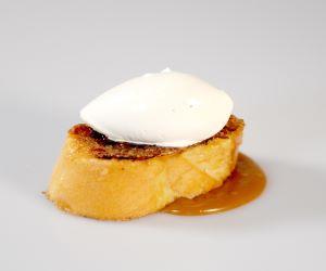 NUESTRA Torrija Caramelizada y ToFFE